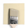 Benjamin Moore Colour HC-36 Hepplewhite Ivory wet, dry colour sample.
