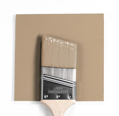 Benjamin Moore Colour HC-47 Brookline Beige wet, dry colour sample.