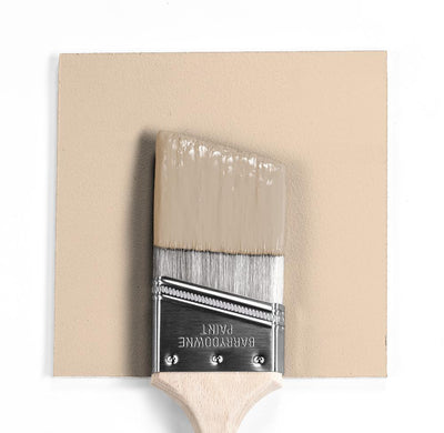 Benjamin Moore Colour HC-57 Sheraton Beige wet, dry colour sample.