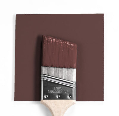 Benjamin Moore Colour HC-64 Townsend Harbor Brown wet, dry colour sample.