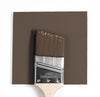 Benjamin Moore Colour HC-67 Clinton Brown wet, dry colour sample.