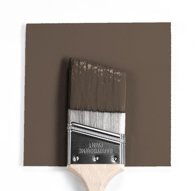 Benjamin Moore Colour HC-68 Middlebury Brown wet, dry colour sample.
