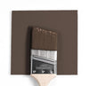 Benjamin Moore Colour HC-70 Van Buren Brown wet, dry colour sample.
