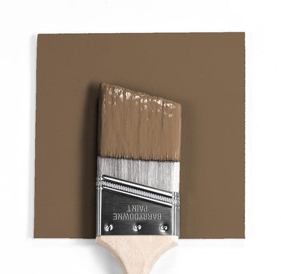Benjamin Moore Colour HC-73 Plymouth Brown wet, dry colour sample.