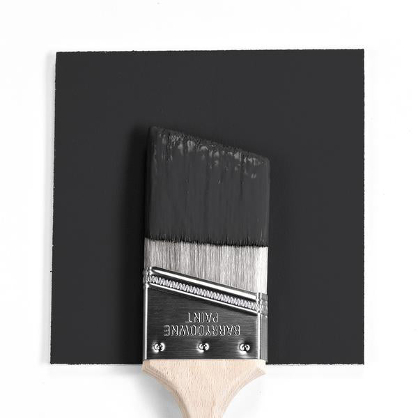 2120-10 Jet Black Paint Brush Mock Up