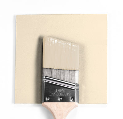 Benjamin Moore Colour OC-103 Antique White wet, dry colour sample.
