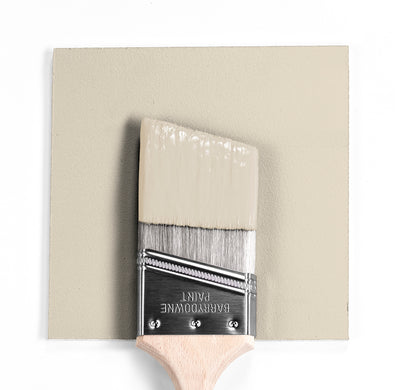 Benjamin Moore Colour OC-10 White Sand wet, dry colour sample.