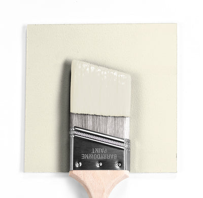 Benjamin Moore Colour OC-113 Powder Sand wet, dry colour sample.