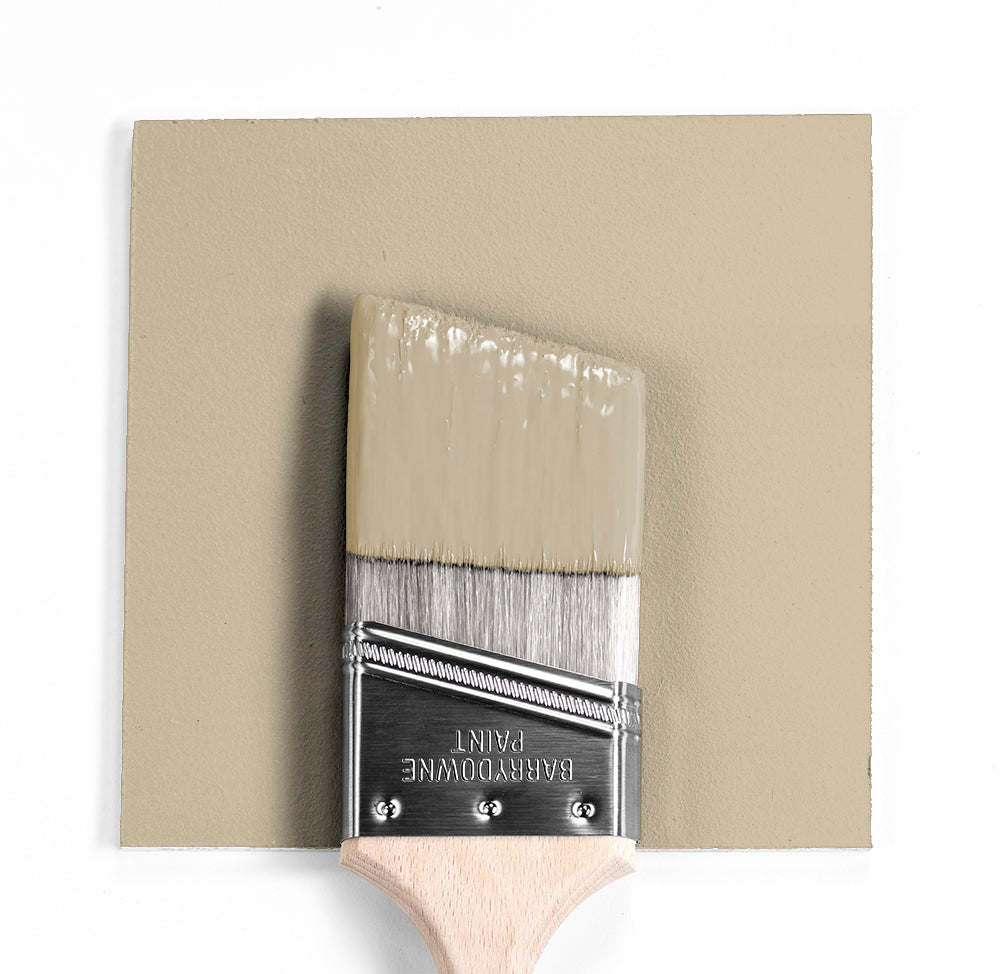 Benjamin Moore Colour OC-11 Clay Beige wet, dry colour sample.