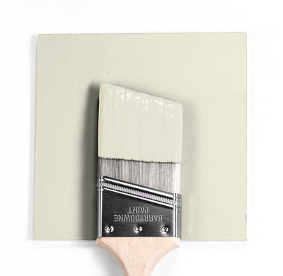 Benjamin Moore Colour OC-120 Seashell wet, dry colour sample.