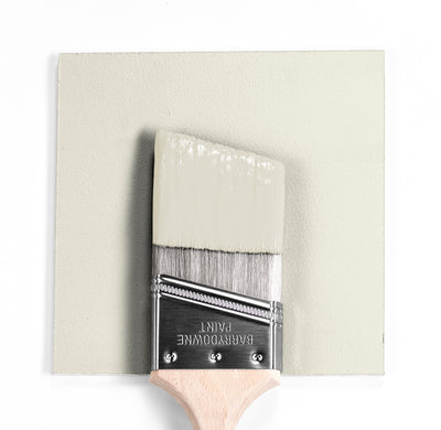 Benjamin Moore Colour OC-29 Floral White wet, dry colour sample.