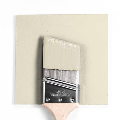 Benjamin Moore Colour OC-35 Spanish White wet, dry colour sample.