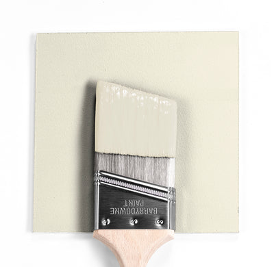 Benjamin Moore Colour OC-39 Timid White wet, dry colour sample.