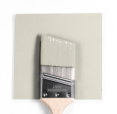 Benjamin Moore Colour OC-50 November Rain wet, dry colour sample.