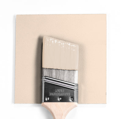 Benjamin Moore Colour OC-74 Onyx White wet, dry colour sample.