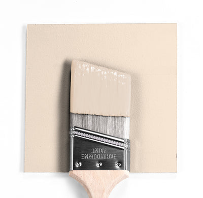 Benjamin Moore Colour OC-83 Antique White wet, dry colour sample.