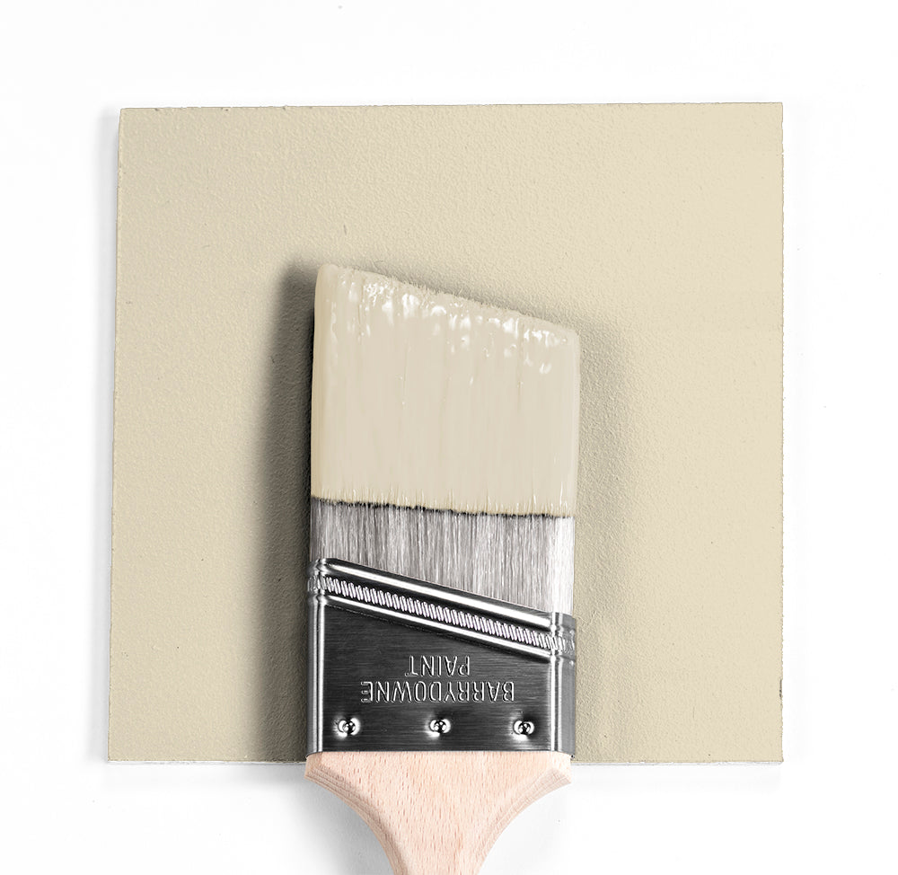 Benjamin Moore Colour OC-8 Elephant Tusk wet, dry colour sample.