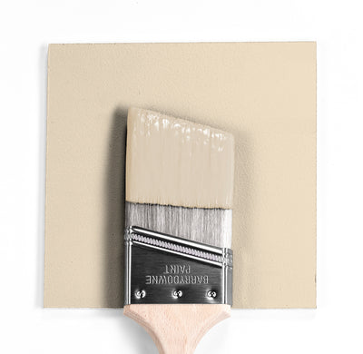 Benjamin Moore Colour OC-96 Gentle Cream wet, dry colour sample.