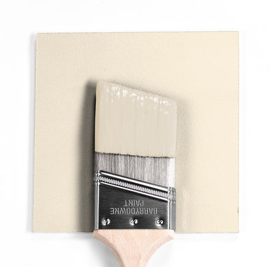 Benjamin Moore Colour OC-98 Bare wet, dry colour sample.
