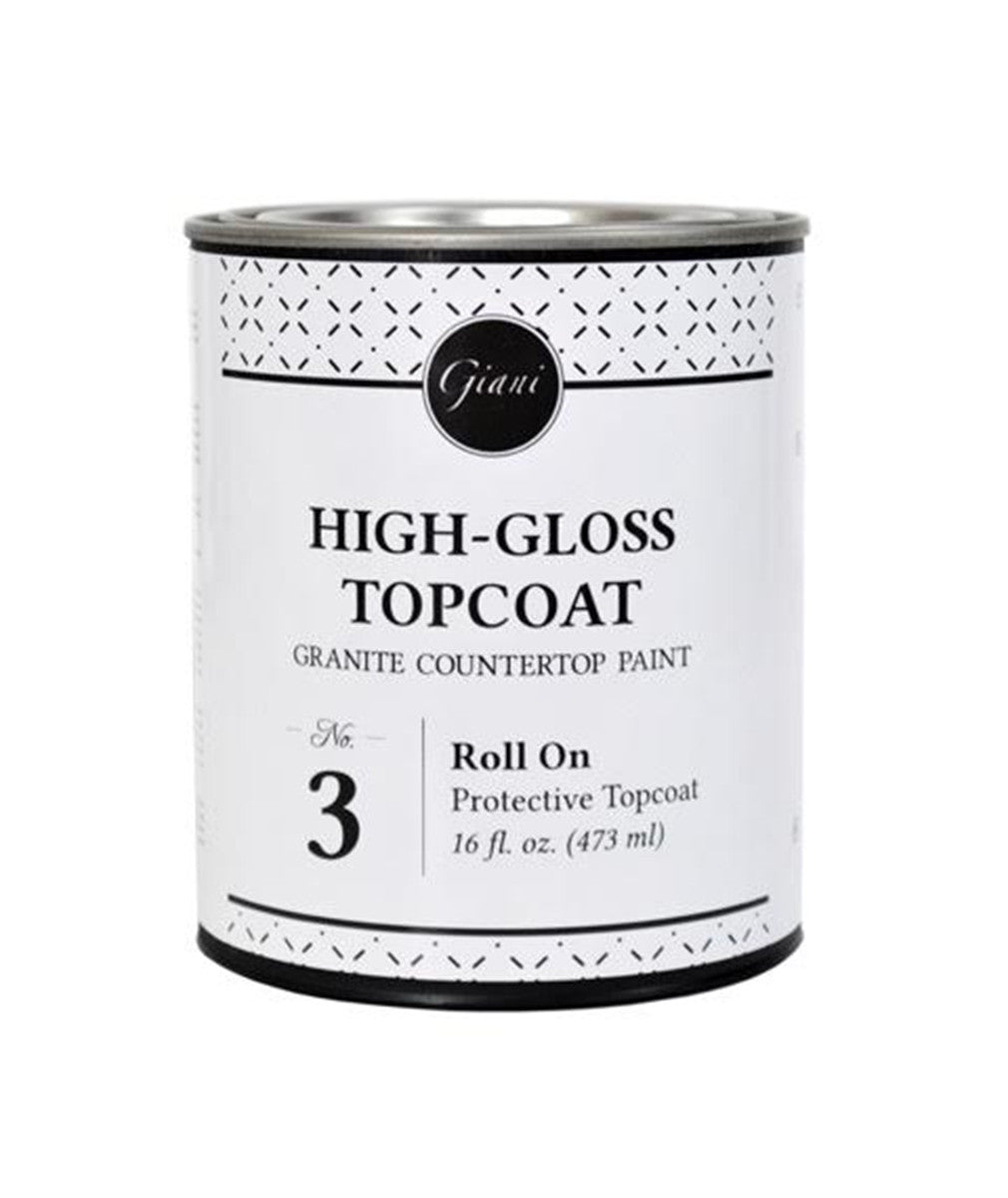 Giani™ Acrylic Clear Topcoat (Step 3 for Countertop Kits™)