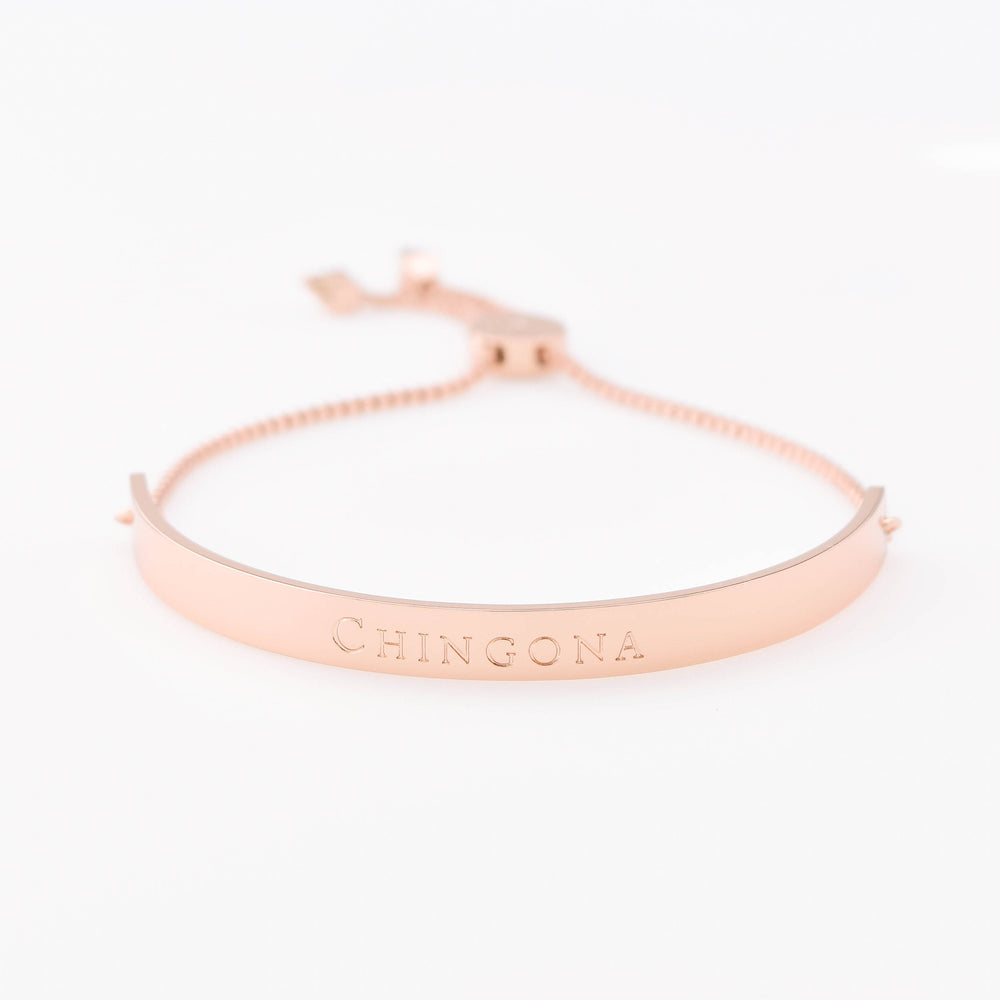 Horizon Bracelet Extended Bar Chingona