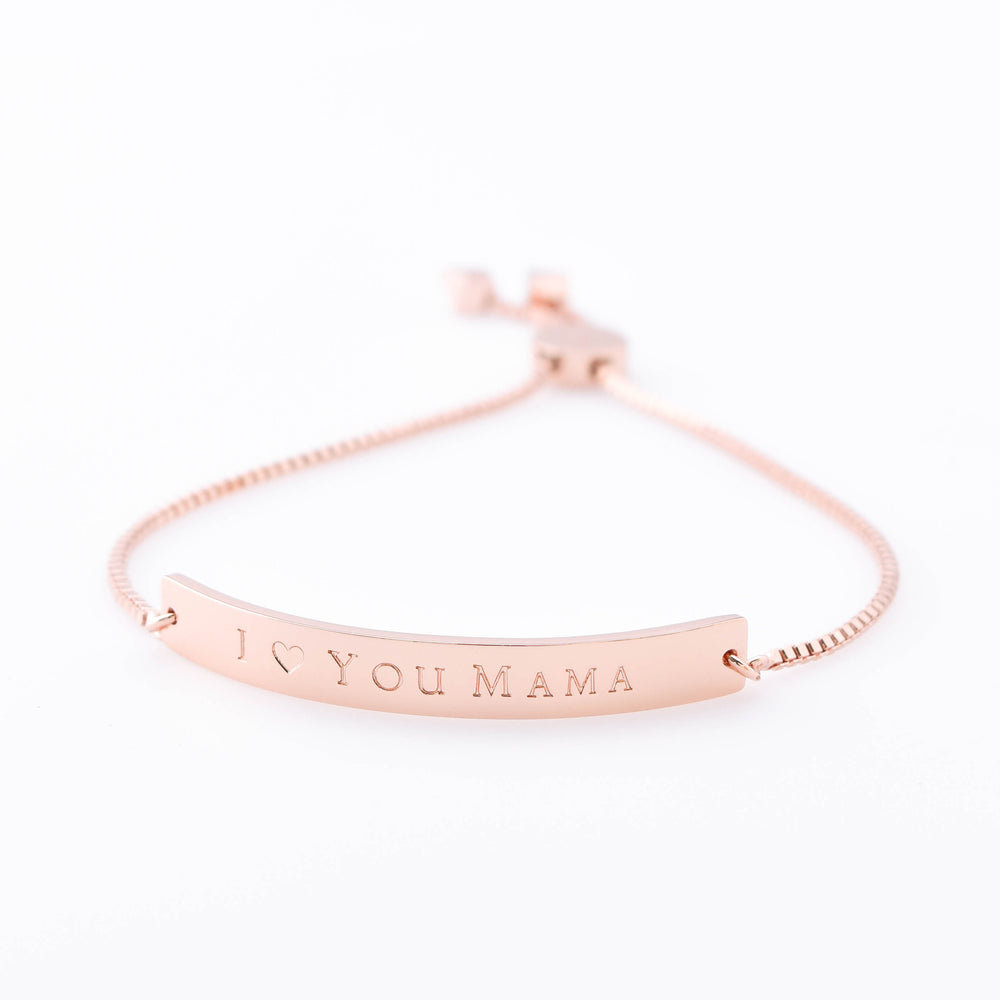 Horizon Bracelet I Heart You Mama