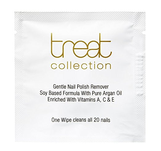 Treat Collection Gentle Nail Polish Remover Wipes