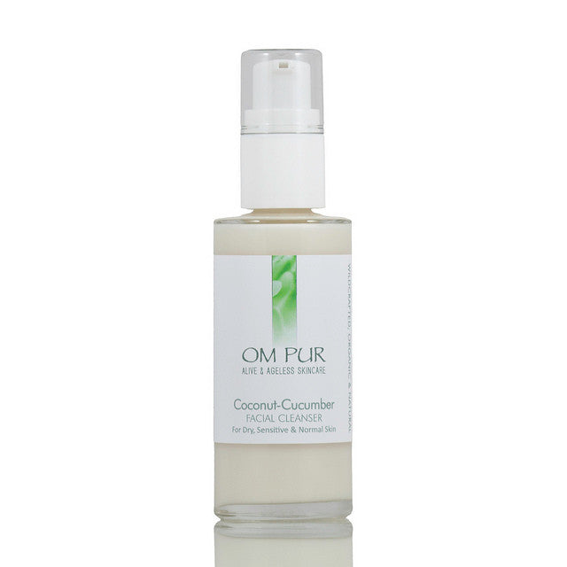 OM PUR Coconut-Cucumber Facial Cleanser