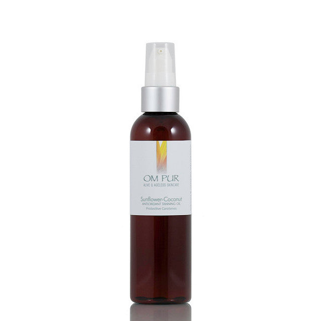 OM PUR Sunflower-Coconut Antioxidant Tanning Oil