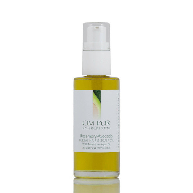 OM PUR Rosemary-Avocado Herbal Hair & Scalp Oil