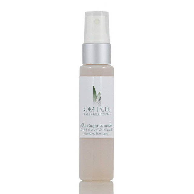 OM PUR Clary Sage-Lavender Clarifying Toning Mist