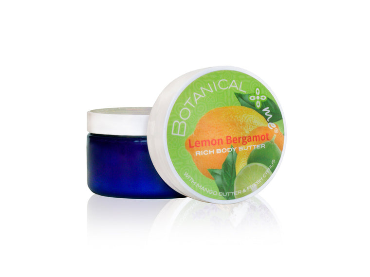 Botanical Me Body Butter Lemon Bergamont 4oz
