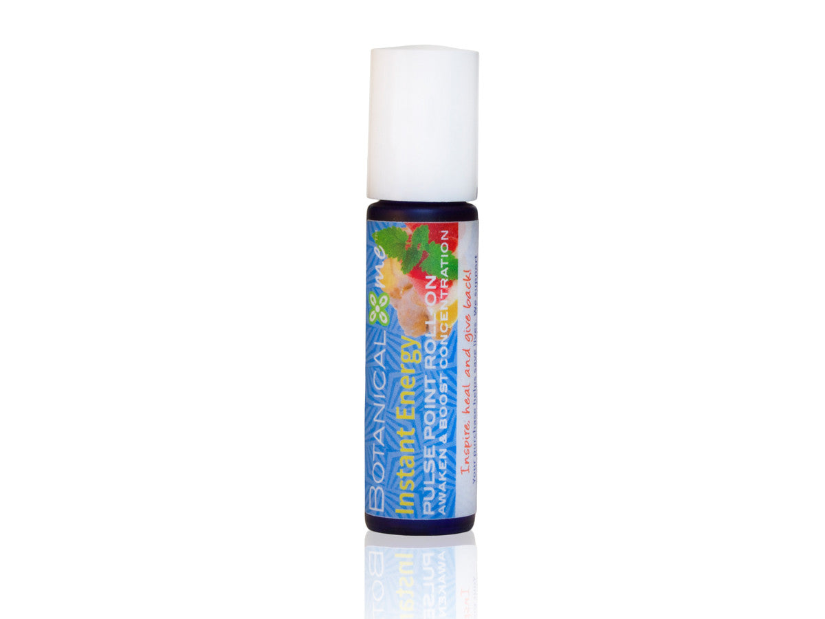 Botanical Me Instant Energy Pulse Point Roll-On .35oz, Botanical Me - ShopConsciousBeauty.com