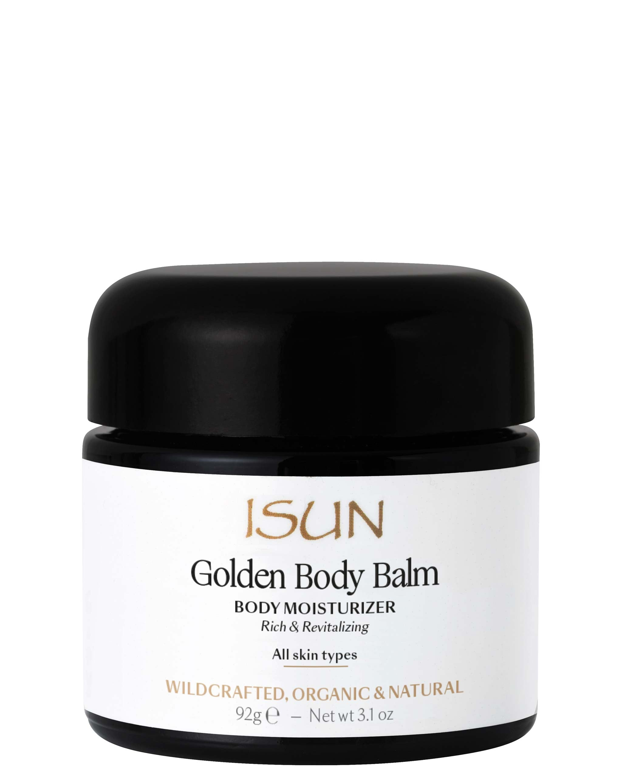 ISUN Golden Body Balm / Body Moisturizer 100ml, ISUN - ShopConsciousBeauty.com