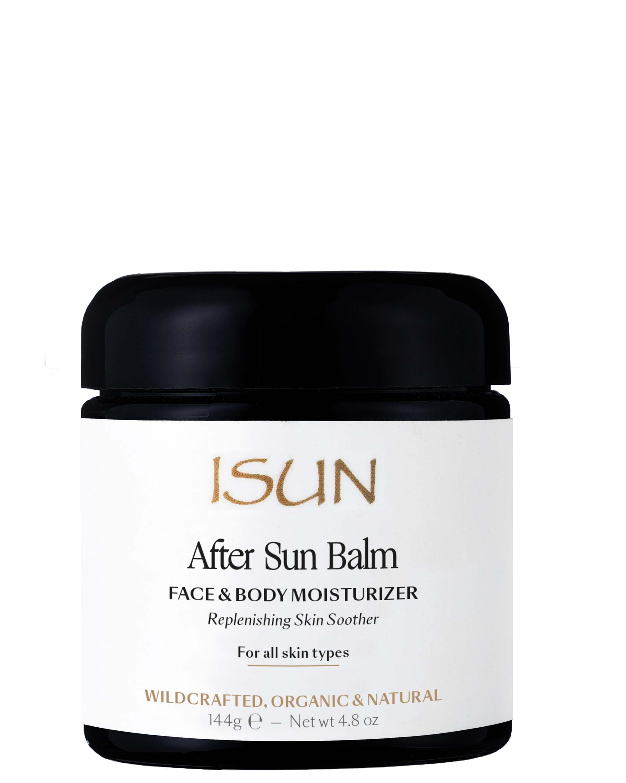 ISUN After Sun Balm / Face & Body Moisturizer 120ml, ISUN - ShopConsciousBeauty.com