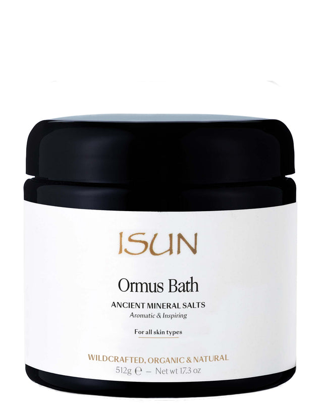ISUN Ormus Bath / Ancient Mineral Salts 480ml, ISUN - ShopConsciousBeauty.com