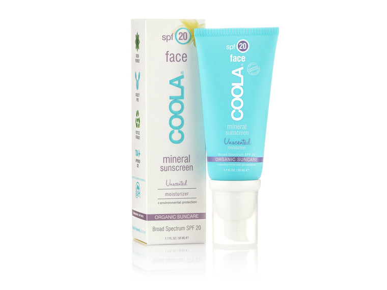 Coola Suncare MineralFace SPF 20 Lotion Unscented