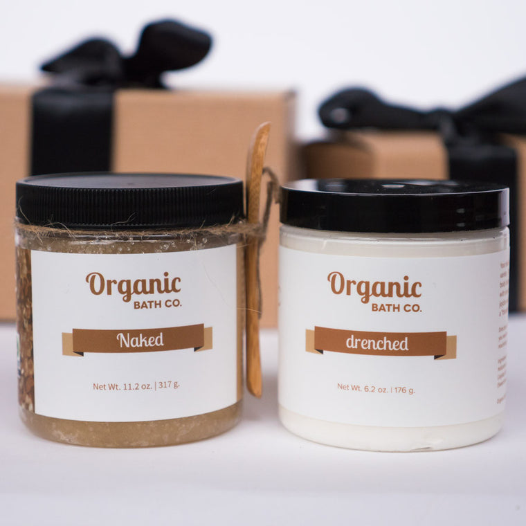 Organic Bath Co. Save Your Skin Gift Set
