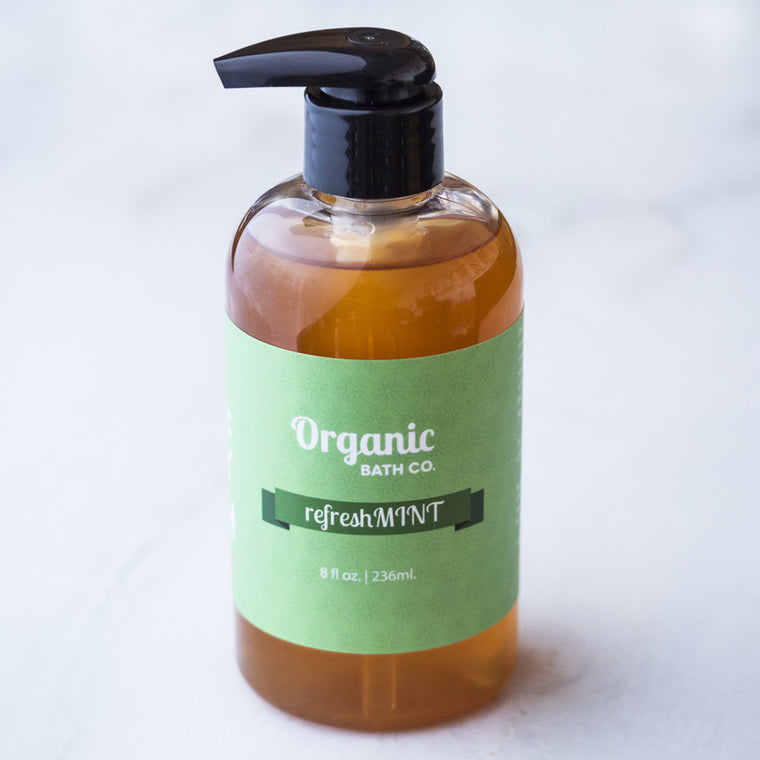 Organic Bath Co. RefreshMint Organic Body Wash