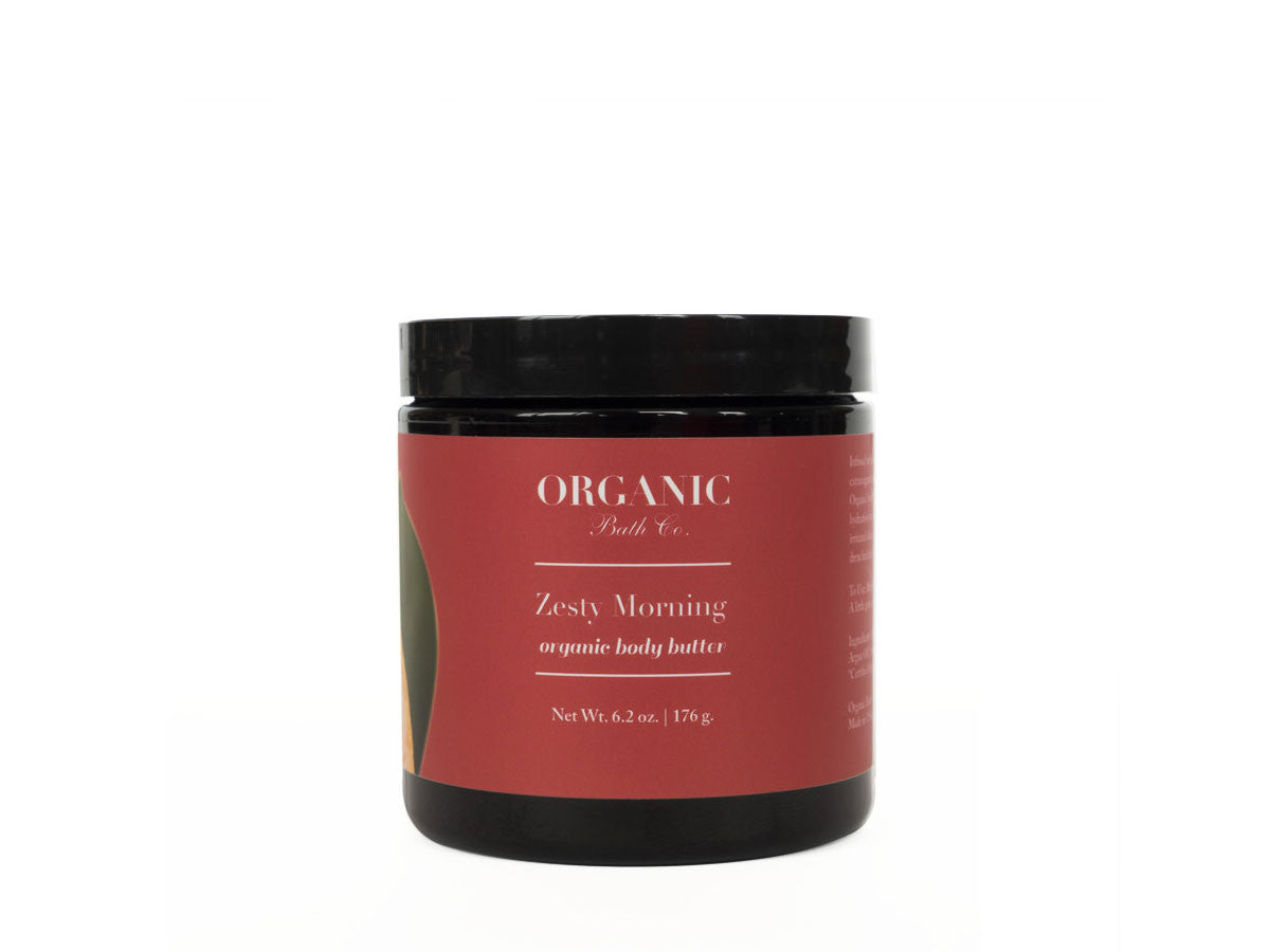Organic Bath Co. Zesty Morning Organic Body Butter