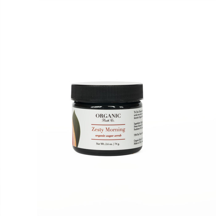 Organic Bath Co. Zesty Morning Organic Body Scrub