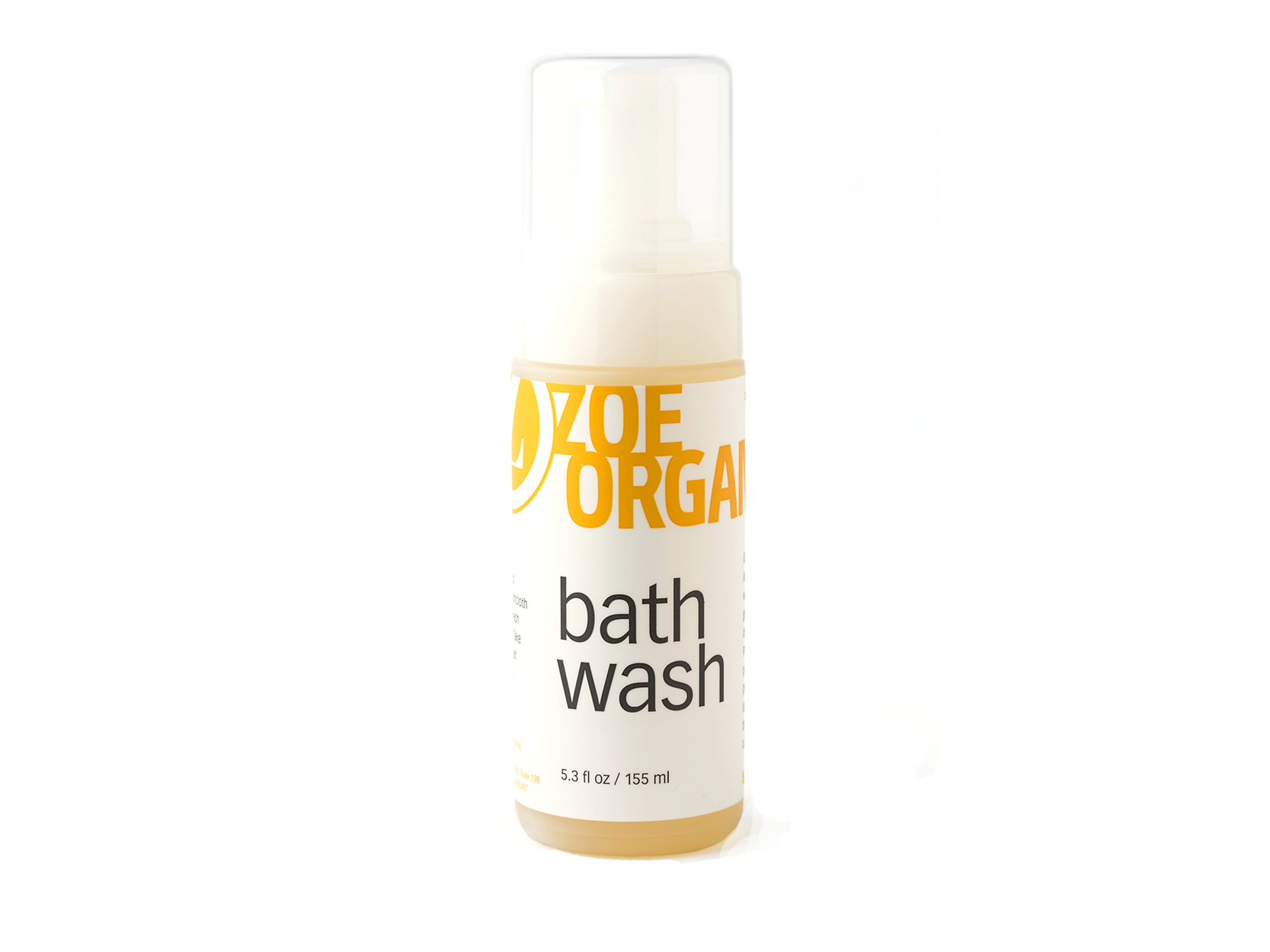 Zoe Organics Bath Wash 32oz Refill