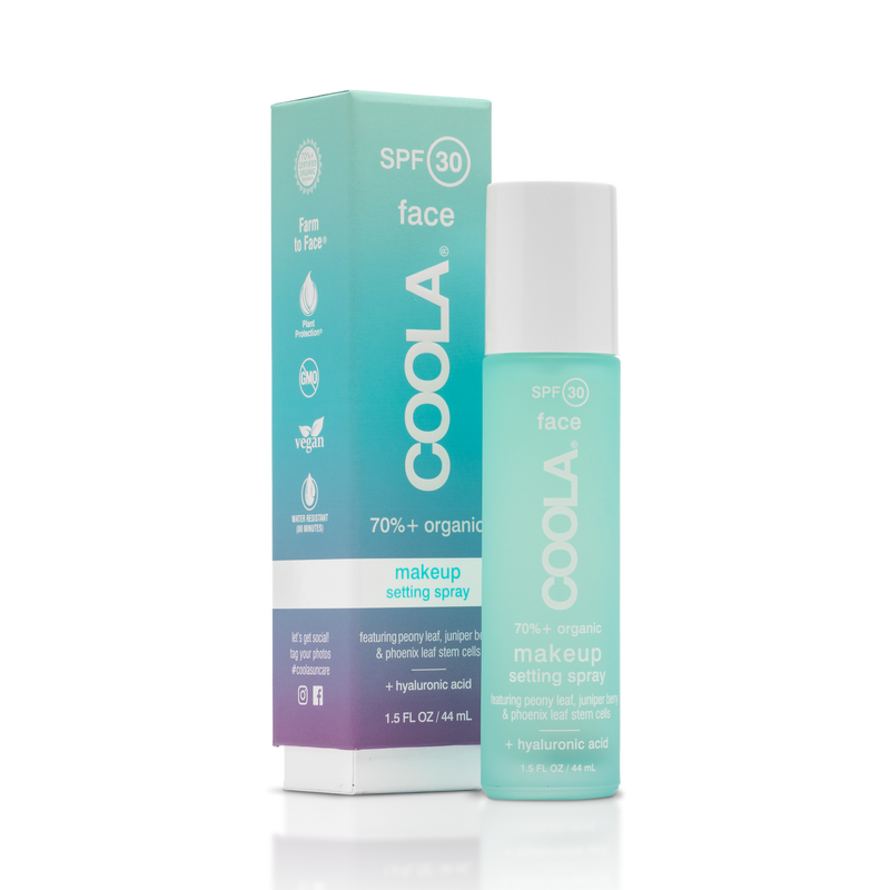 COOLA SPF 30 Organic Makeup Setting Spray 1.7oz, Coola Suncare - ShopConsciousBeauty.com