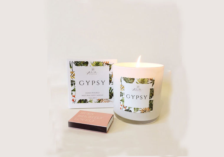 Prim Botanicals  Gypsy Hand Poured Candle