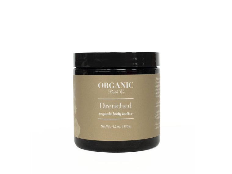 Organic Bath Co. Drenched Organic Body Butter with Argan & Jojoba