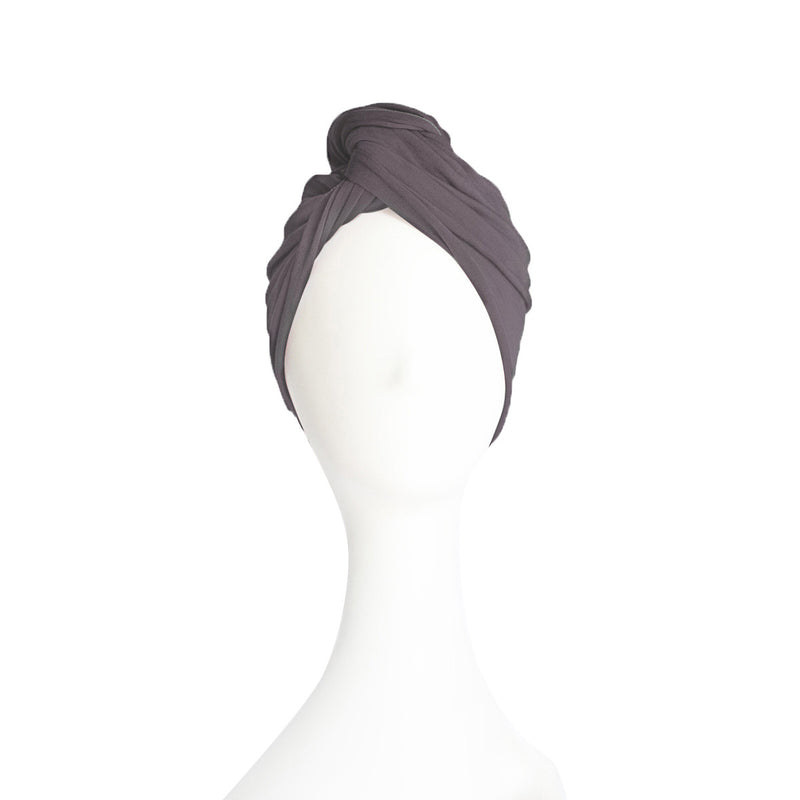 Hubalou Wrap Hair Towel Slate