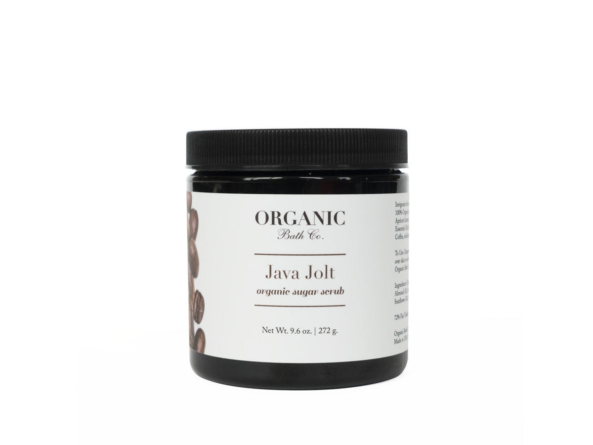 Organic Bath Co. Java Jolt Organic Sugar & Coffee Scrub