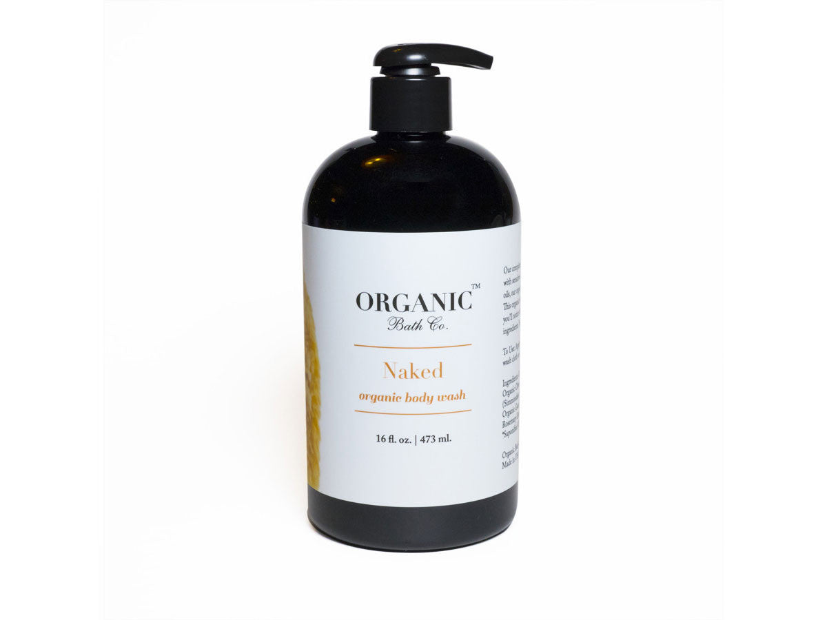 Organic Bath Co. Naked Organic Body Wash, Organic Bath Co. - ShopConsciousBeauty.com