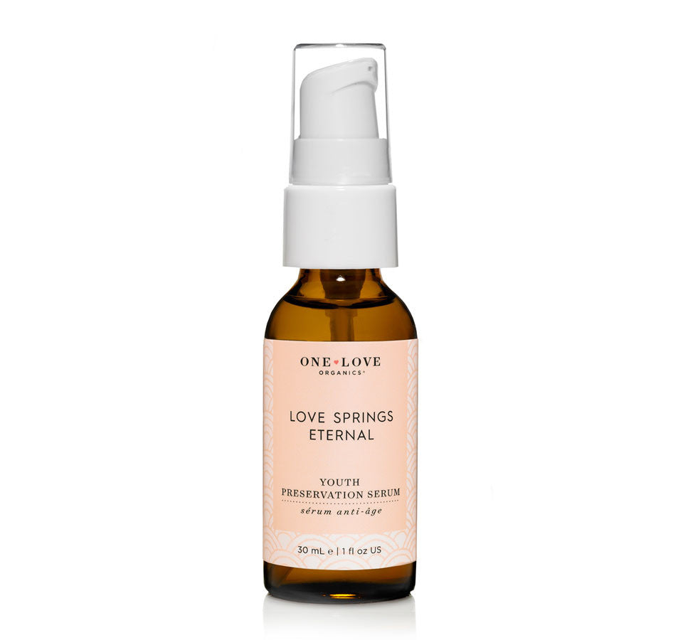 One Love Organics Love Springs Eternal Preservation Serum .8oz, One Love Organics - ShopConsciousBeauty.com