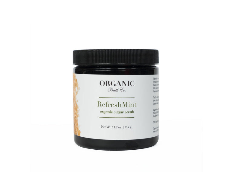 Organic Bath Co. RefreshMINT Organic Body Scrub
